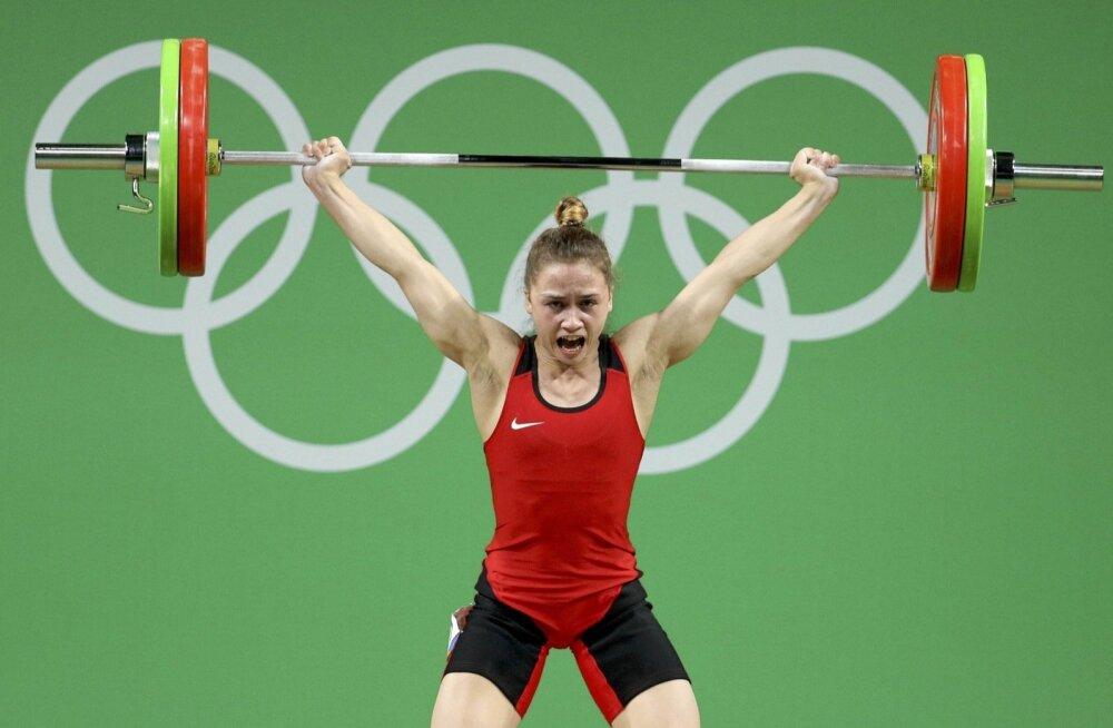 Rebeka Koha Rio olümpial.