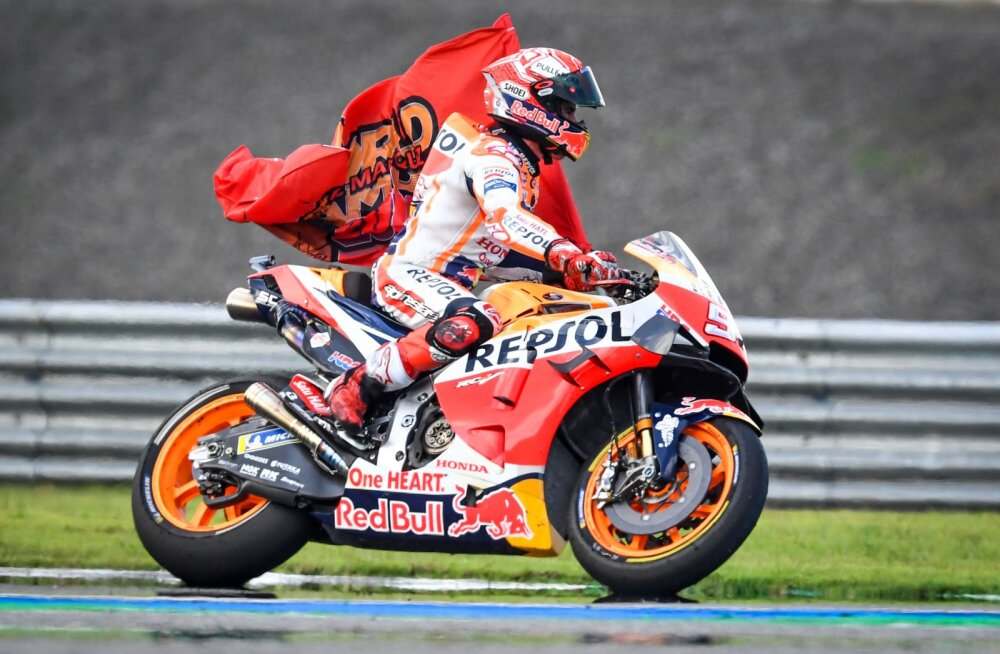 Marc Marquezist sai kuuekordne MotoGP maailmameister