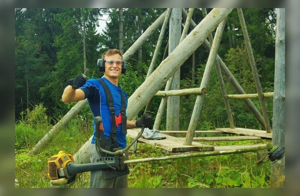 Eelmisel hooajal esimese eestlasena programmi läbinud noormees oli edukas ja leidis töökoha.
