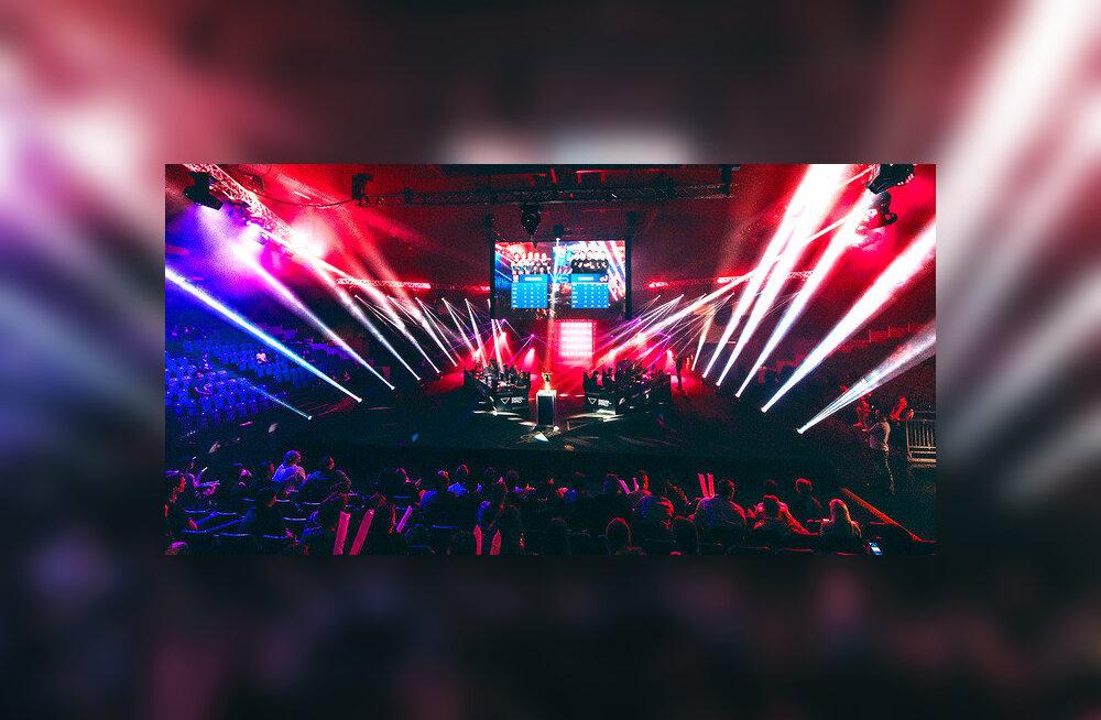 В Saku Suurhall пройдет крупнейший в Балтийских странах фестиваль киберспорта