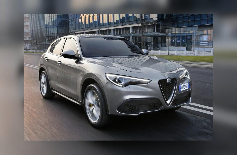 """""""Majaga"""" rajale - linnamaastur Alfa Romeolt kannab nime Stelvio"""