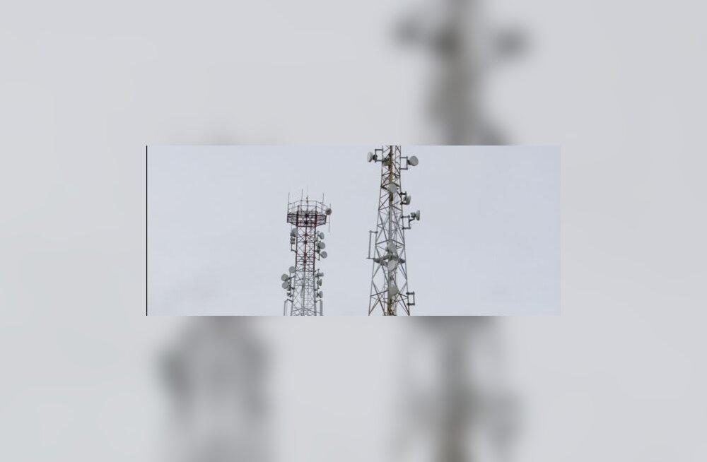 Metallikratid varastasid 40-meetrise raadiomasti
