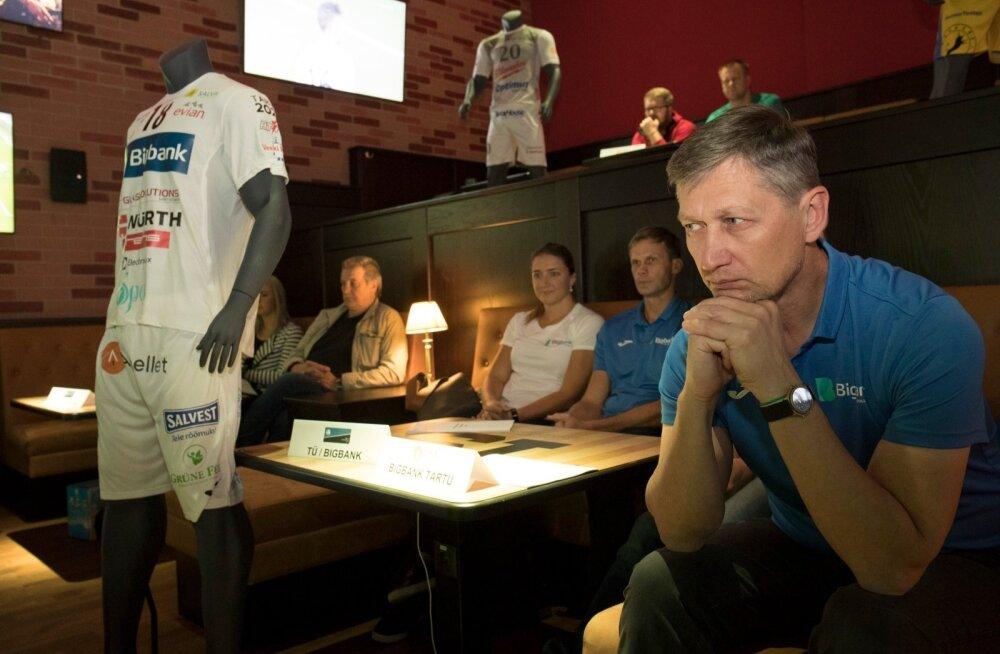 Treener Andrei Ojamets peab Tartu Bigbanki taas karikateni viima.