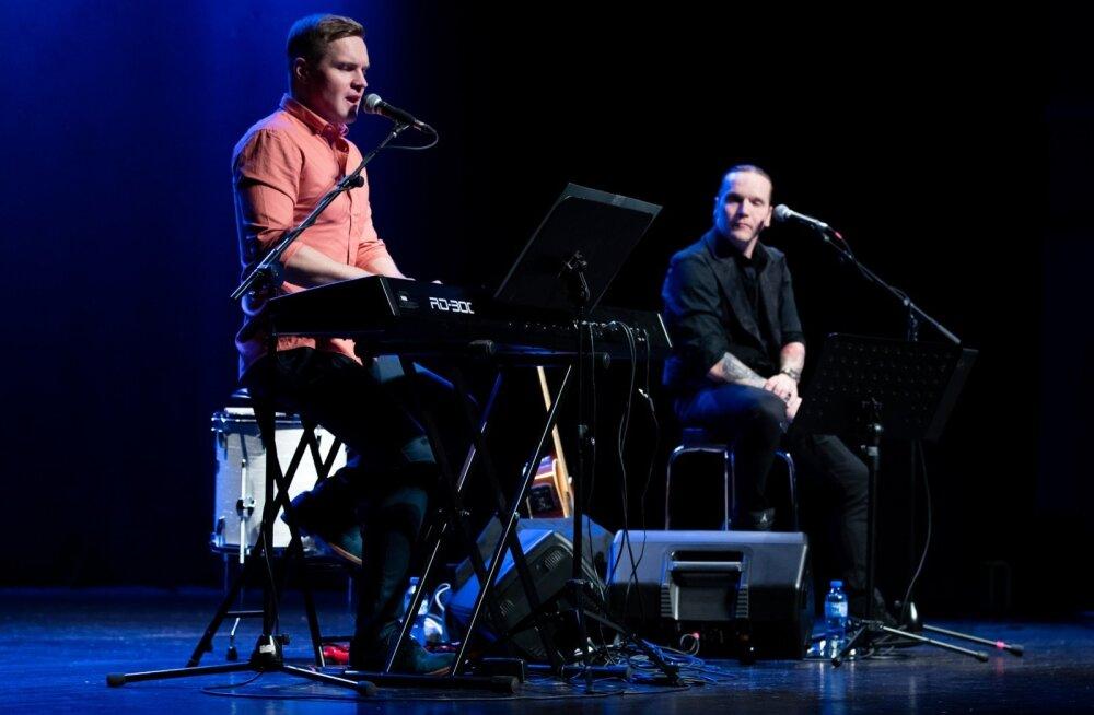 Ott Lepland ja Jaagup Kreem ühisel kontserdituuril Neli akordi