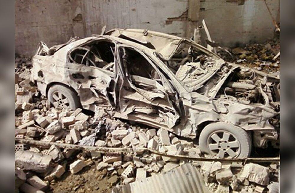 Iraagi enesetapurünnakus hukkus 21 politseinikku