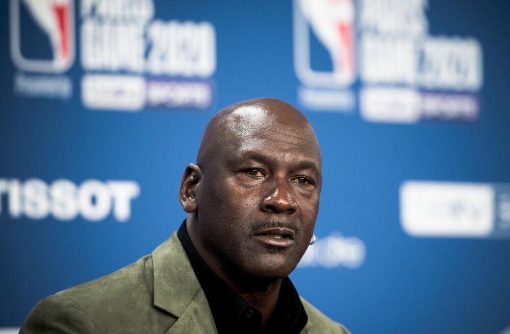 NBA legend tülist Michael Jordaniga: see teeb mind kurvaks