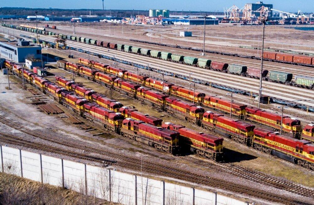 Eesti Raudtee kasvatab veomahte ja loodab endiselt Hiina rongide tulekule