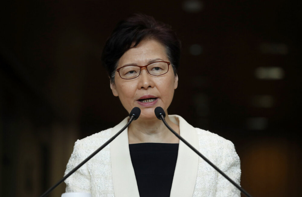 Hongkongi valitsusjuht teatas meeleavaldused esile kutsunud väljaandmiseelnõu tagasivõtmisest