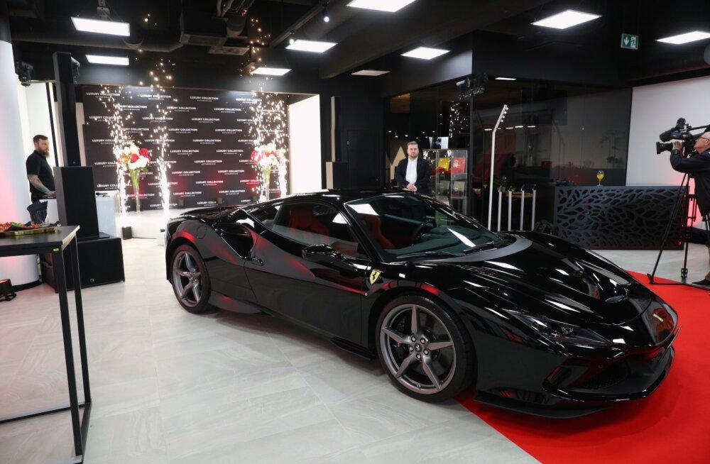 Tallinnas avatud Ferrari esindussalong müüs aastaplaani kahe nädalaga täis