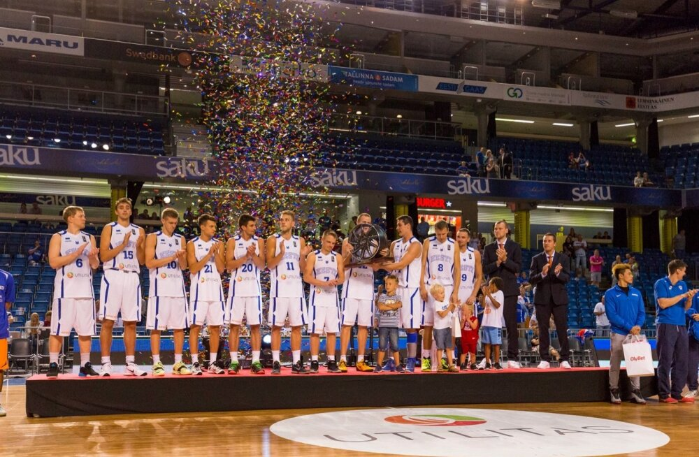 Eesti korvpallikoondis alistas Hollandi
