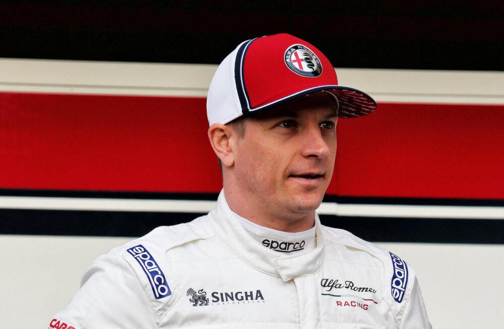 Kimi Räikkönen Alfa Romeost: mul ei ole aimugi, mis seisus me autoga oleme
