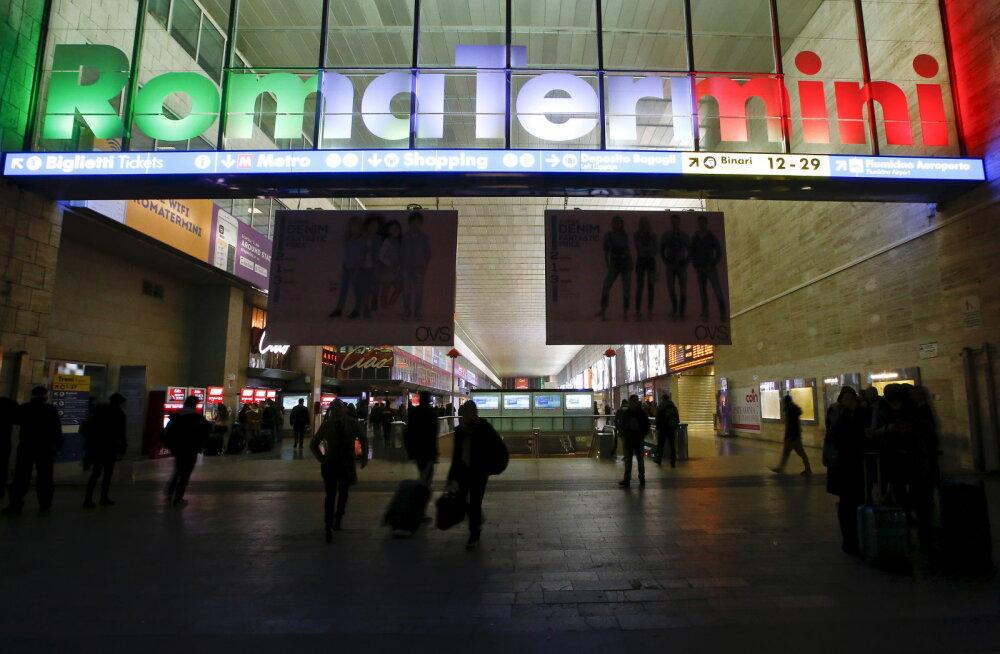 Из-за мужчины с игрушечным автоматом эвакуировали вокзал в Риме