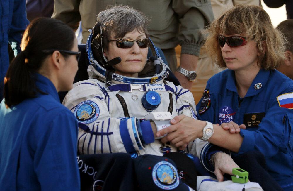 REKORD | Astronaut Peggy Whitsonist sai nädalavahetusel kõige kauem kosmoses viibinud ameeriklane