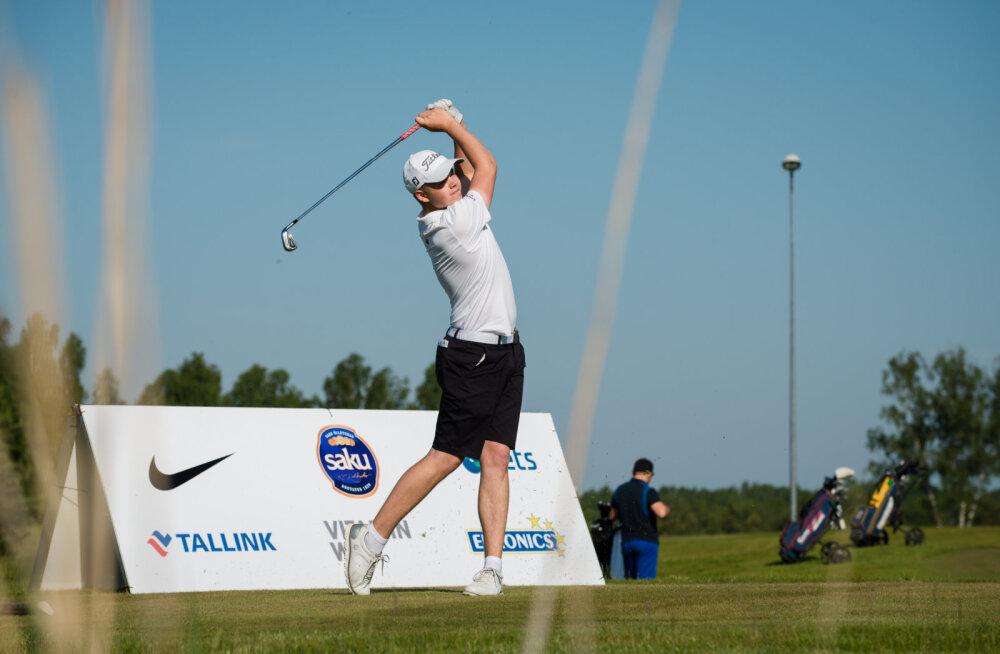 Estonian Amateur Openi golfivõistluse avapäeva järel juhib suusalegend Isometsä poeg Eetu