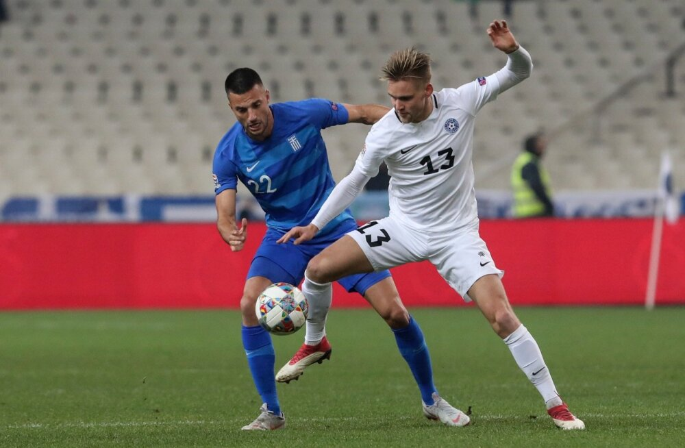 Greece Estonia Nations League Soccer