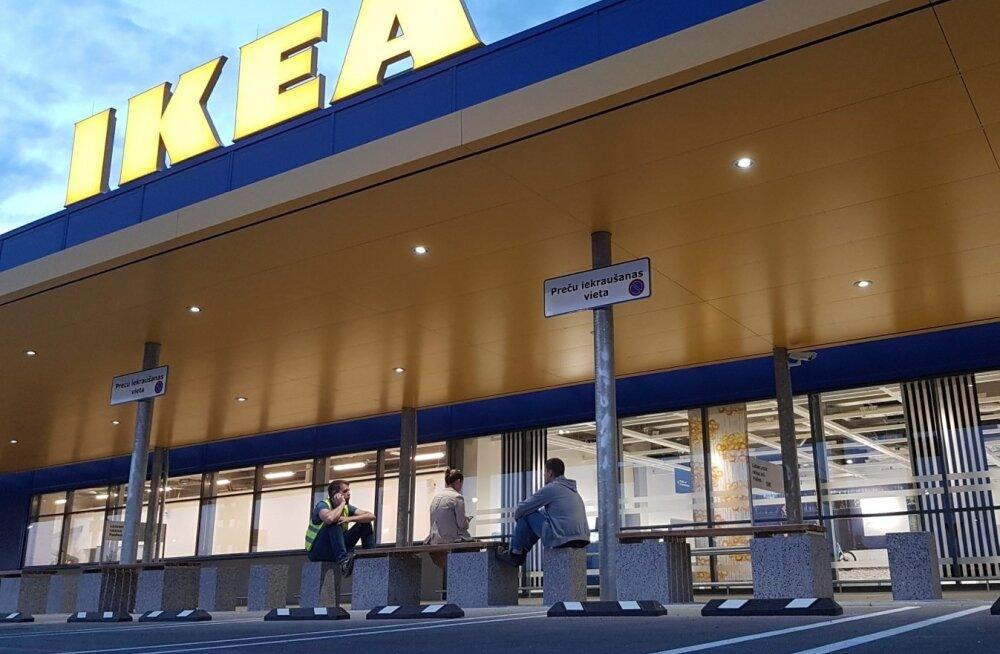 Läti IKEA enne avamist