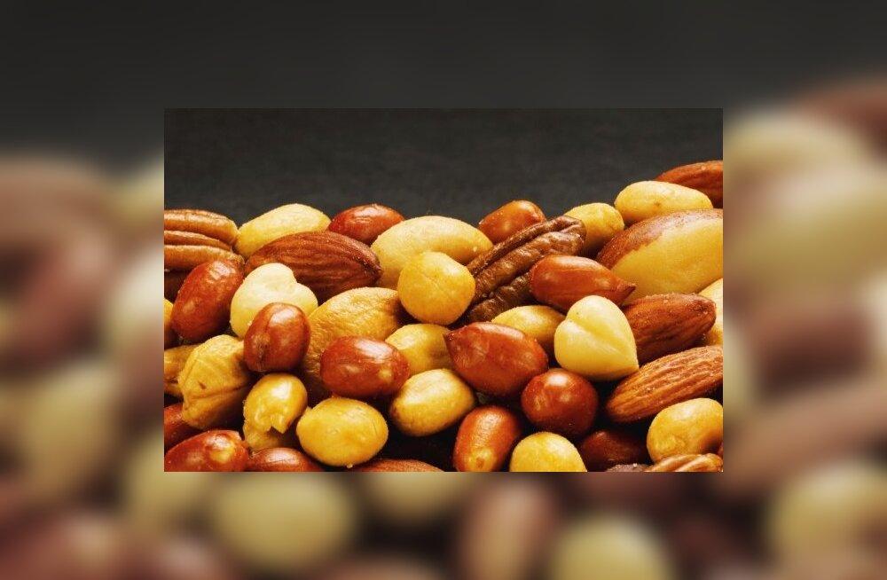 Pähklite ja seemnetega kaalu langetama!