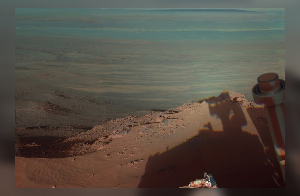 Marsi savi ei pruugi olla ammuse elu märk