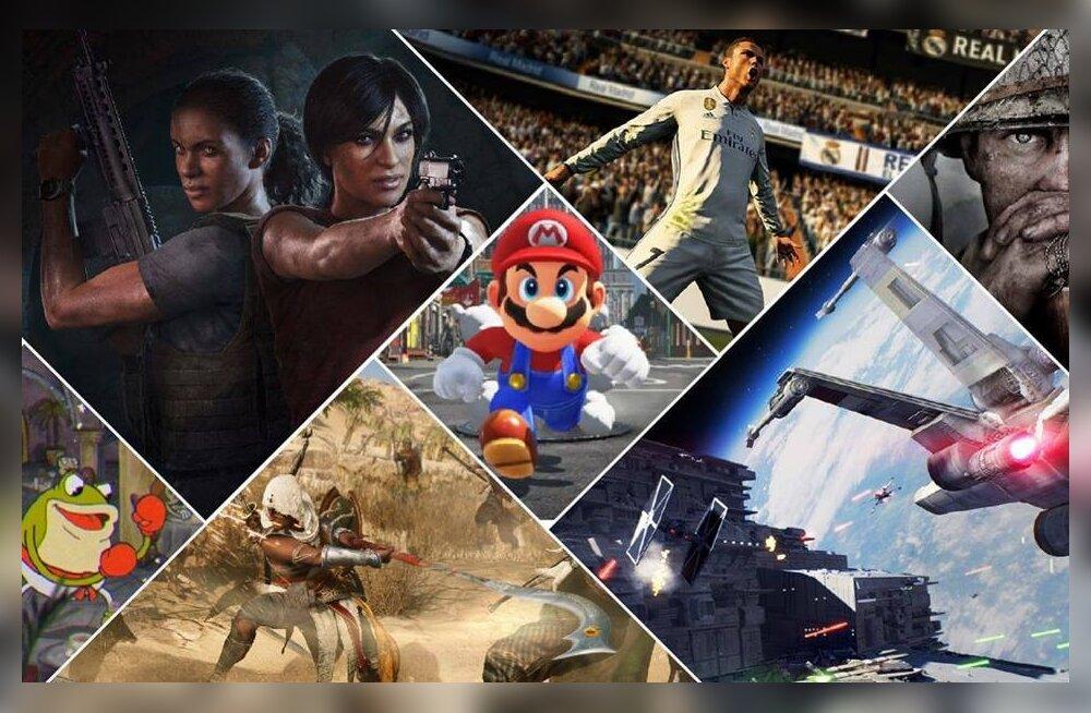Tule aita 2017. aasta parimaid videomänge valida!