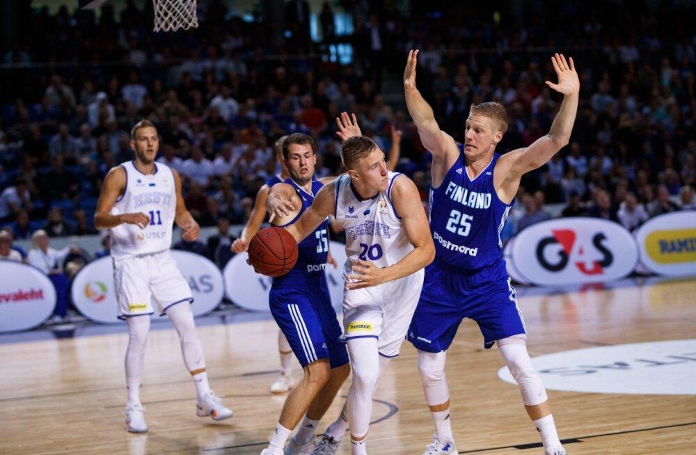 Soome- Eesti korvpall, Rauno Nurger