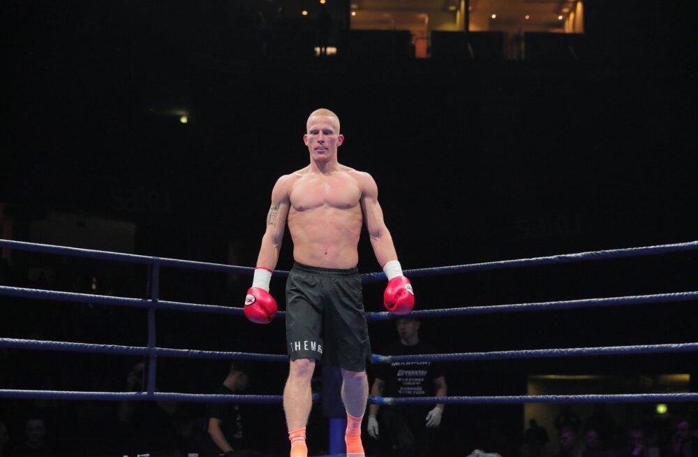 """Kikkpoksija Hendrik Themas vahetas kaalukategooriat: """"Pean igaks võistluseks kaotama kuus kilo"""""""