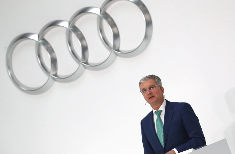 Dieselgate´i skandaal jätkab kõrgete peade niitmist: Saksamaal arreteeriti Audi tegevjuht