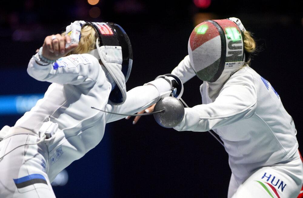 Eesti epeenaiskond lõpetas MM-i kuuenda kohaga, meestel polnud kaheksa sekka asja
