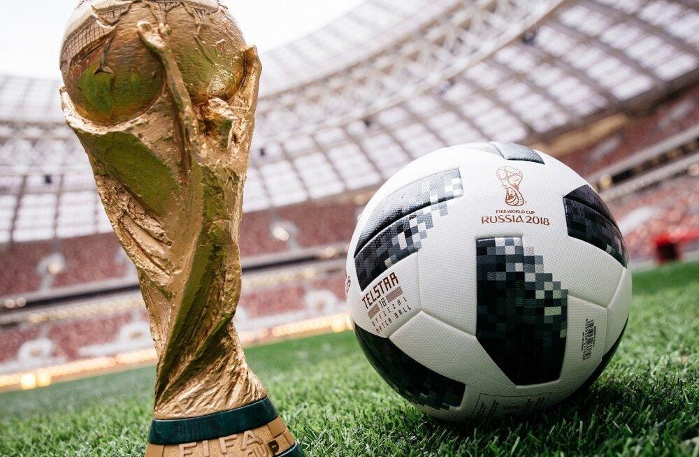 Jalgpalli MMi finaalturniir saab ETV kanalil alguse 14. juunil. Läbi aegade mahukaim eestikeelne jalgpallistuudio läheb eetrisse nii ETVs kui ka ETV2s.
