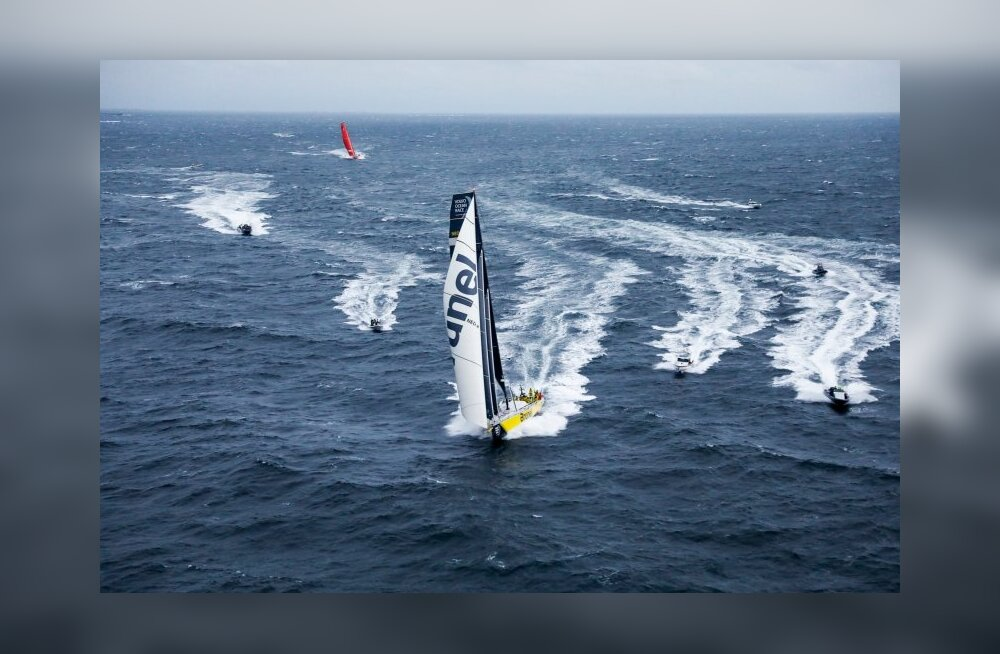 Volvo Ocean Race eelviimase etapi võitis Team Brunel