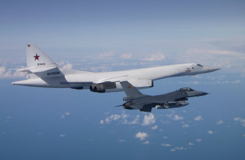 ФОТО | ВВС Бельгии заявили о перехвате российских Ту-160 над Балтикой