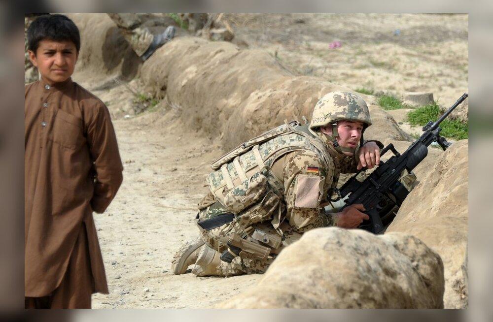 Automaadid ähvardavad Afganistanis Saksa sõdureid põletushaavadega