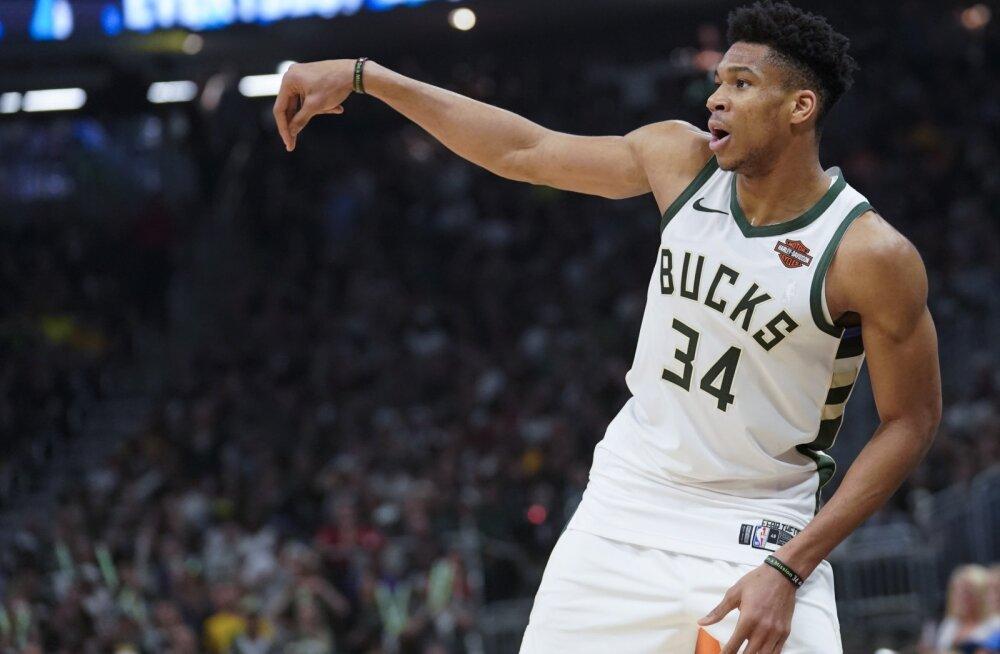 NBA parim mängija Antetokounmpo: olen realiseerinud 60% oma potentsiaalist