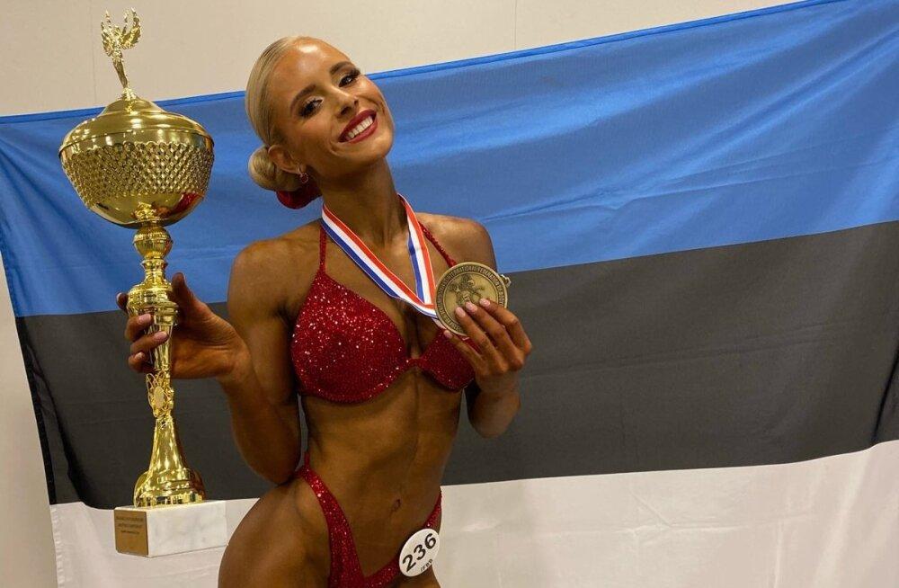 Karina Polovnikova MM-kullaga.
