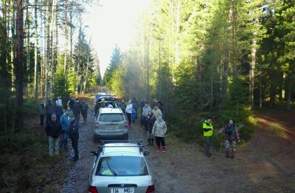 Arvukalt metsaomanikke tundis huvi, kuidas oma metsas loodusväärtusi ära tunda ja neid hoida.