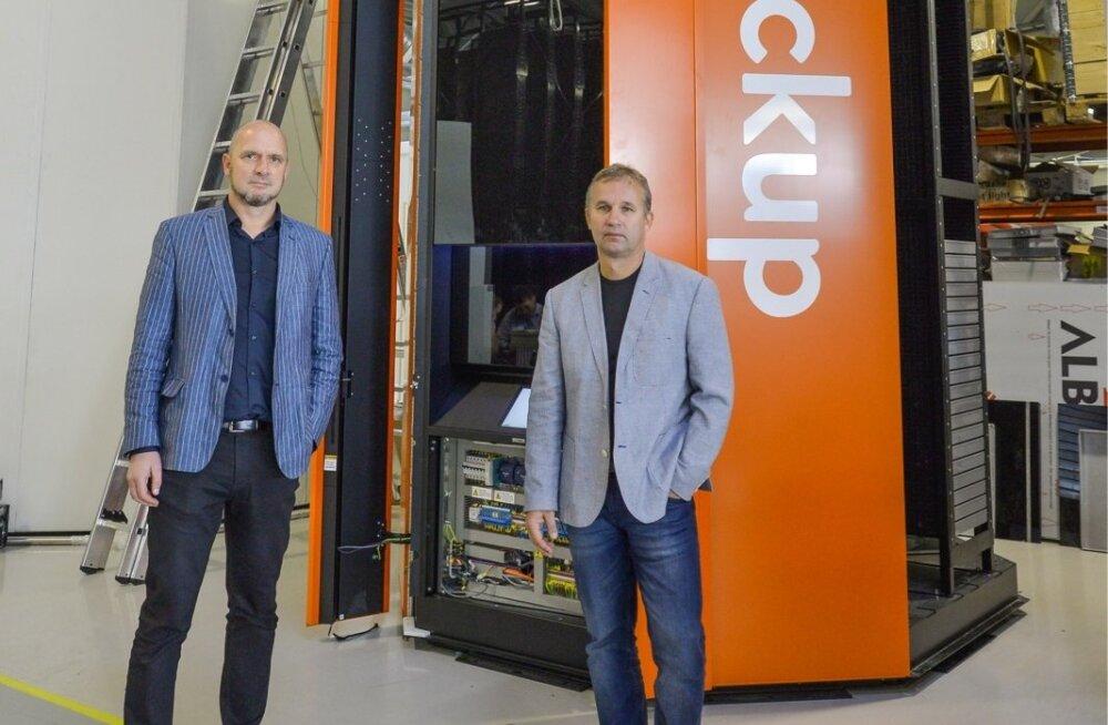 Cleveroni asutajad Peep Kuld (vasakul) ja Arno Kütt