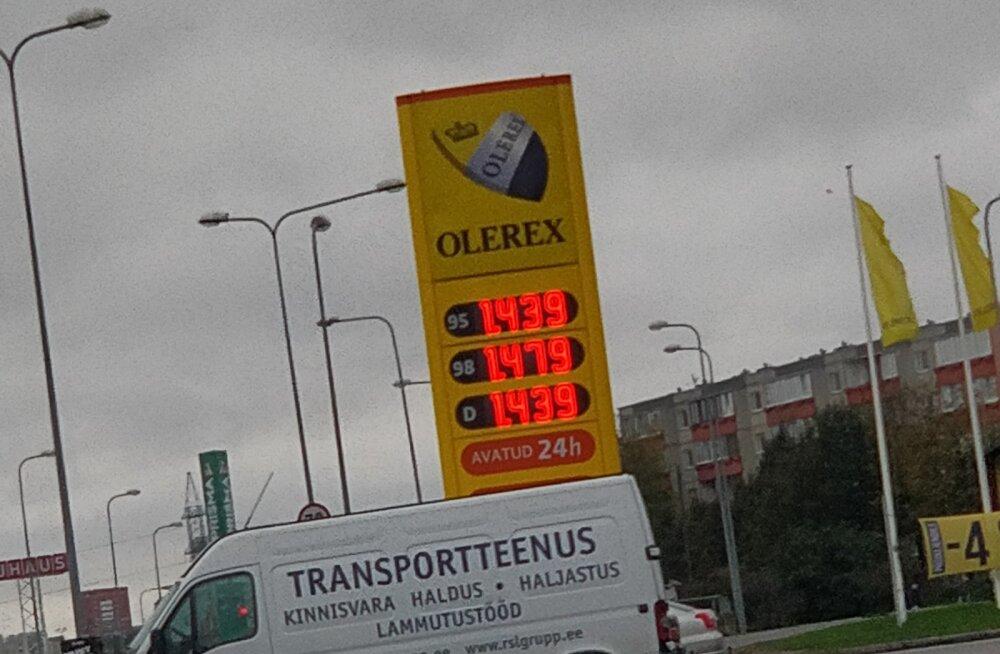 PILTUUDIS | Olerex tõstis kütusehinna viimaste aastate kõrgeimale tasemele