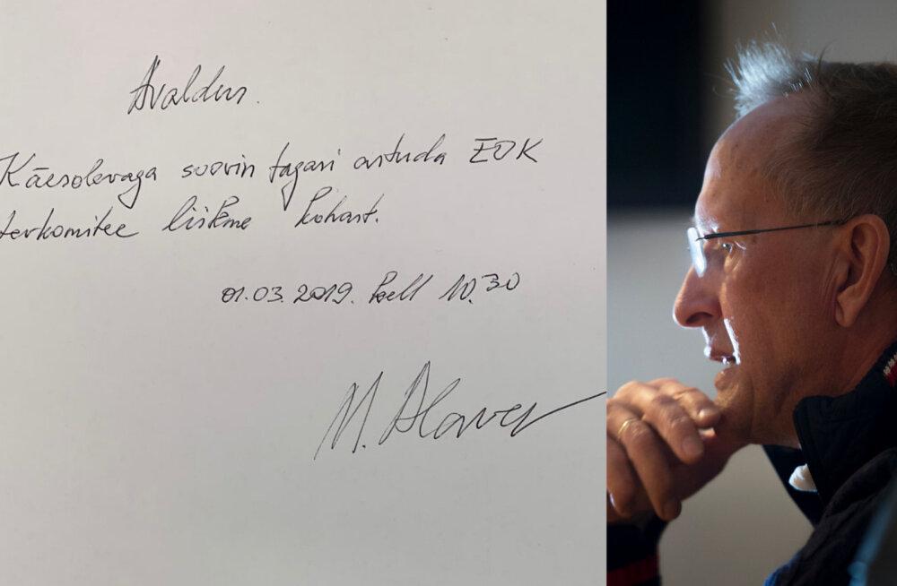 FOTO | Mati Alaver kinnitas dopinguarsti kontakti vahendamist: minu tegemistele pole õigustust