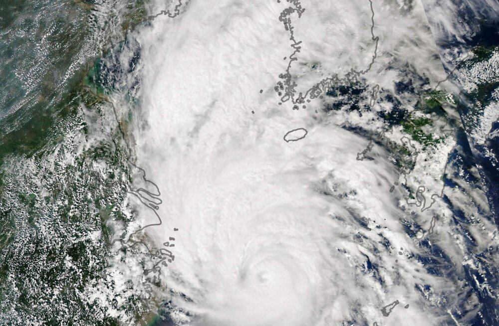 Võimas taifuun kihutas üle Põhja-Korea: Kim Jong-un noomis ametnikke