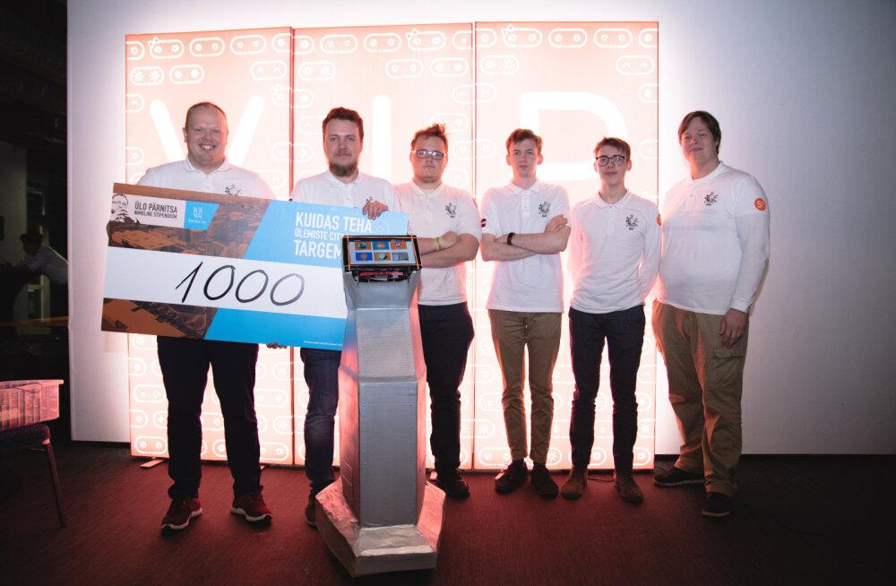 Robotexi Ülemiste City Krati võistlusel premeeriti Läti meeskonda SIG