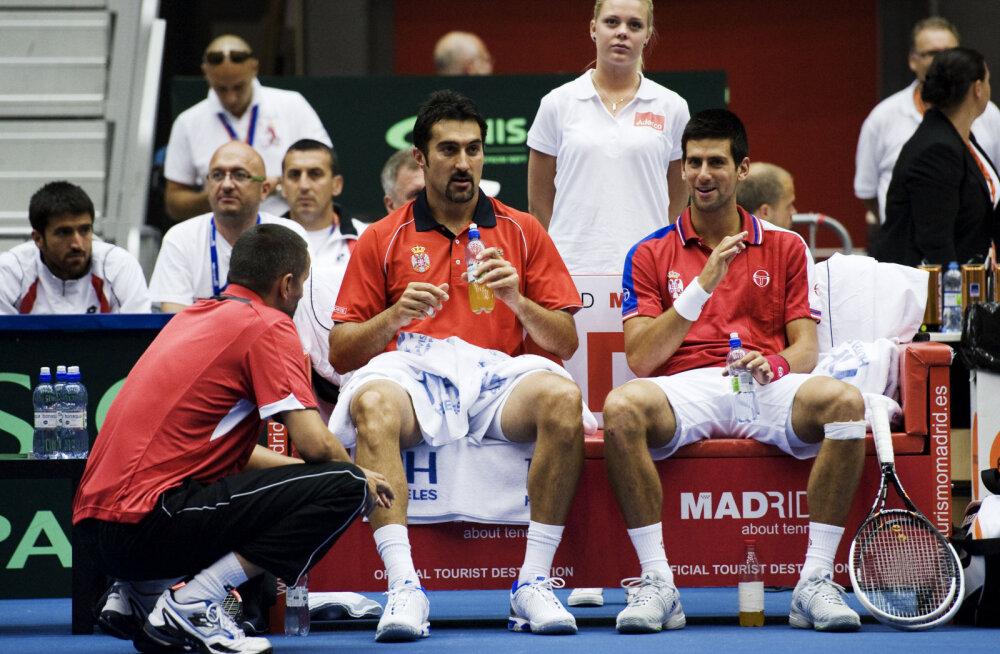 Djokovic avaldas, et mängis Davis Cupil pohmelliga