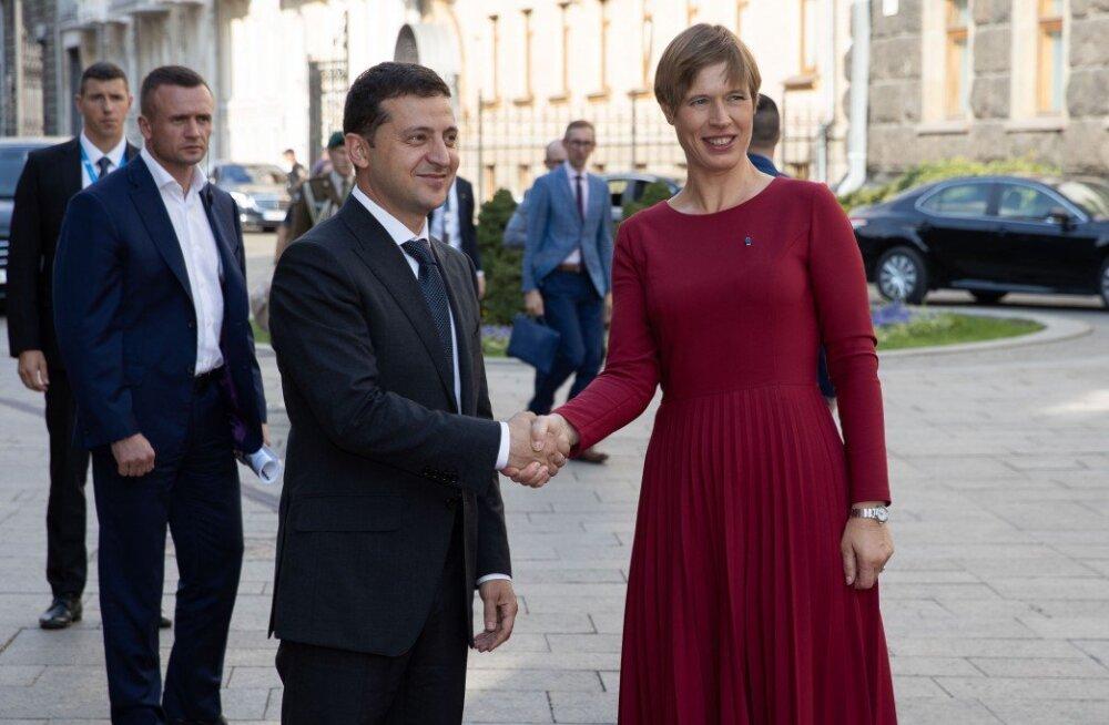 Керсти Кальюлайд: война на востоке Украины и оккупация Крыма — это вещи, которые невозможно принять