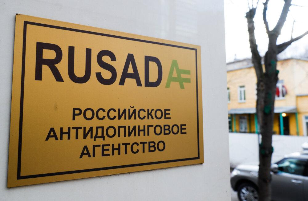 Venelased kaebavad WADA otsuse rahvusvahelisse spordikohtusse