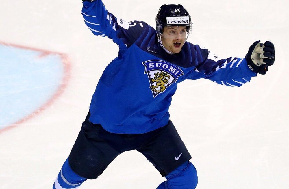 Sakari Mannineni värav tüüris Soome poolfinaali.