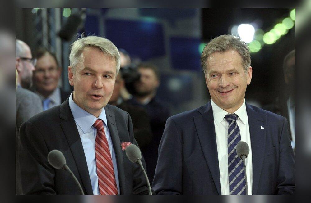 Küsitlus: Soome presidendivalimiste soosik on endiselt Niinistö 64 protsendiga