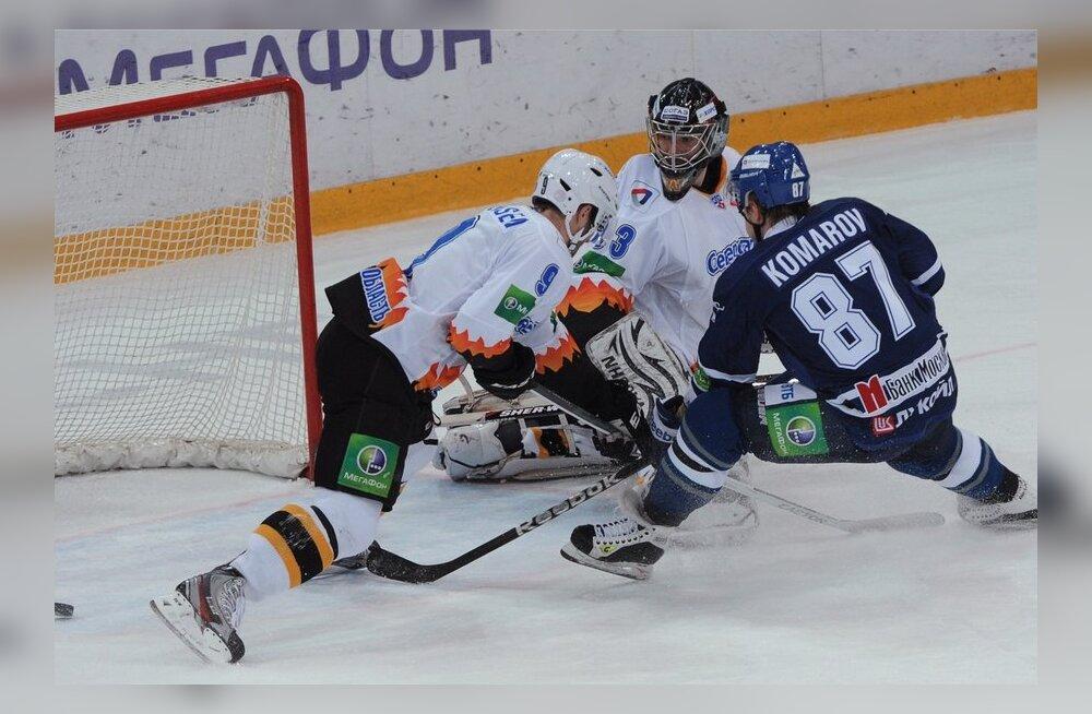Ice hockey. KHL. Dynamo Moscow vs. Severstal