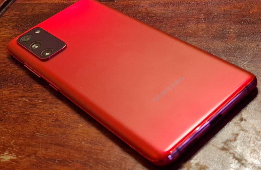 Telefoniarvustus: peaaegu tipptelefon Samsung Galaxy S20 FE