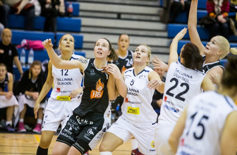 Mänguhoos 1182 Tallinn ja TLÜ, naiste korvpall