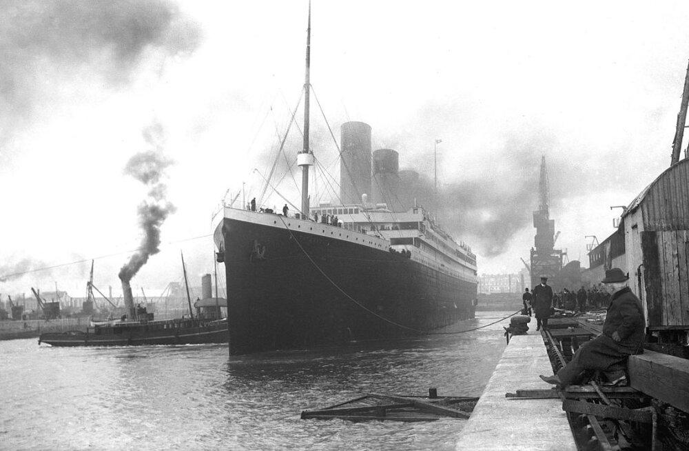 """В Китае начали строительство точной копии """"Титаника"""""""