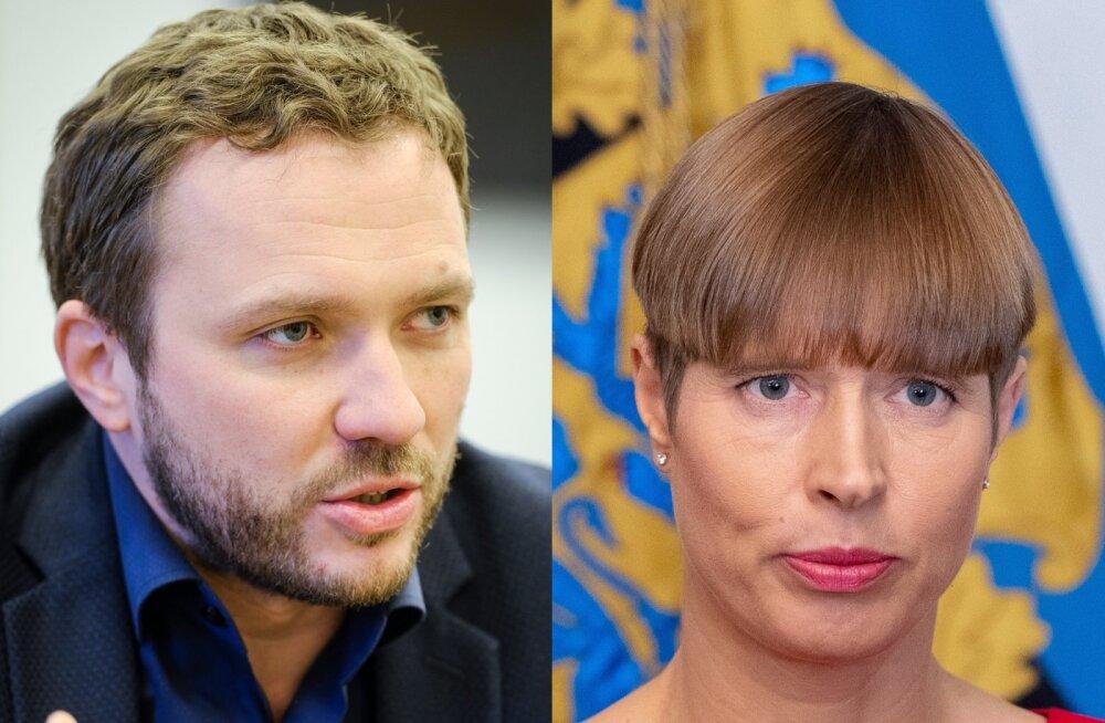 Margus Tsahkna meenutab Kersti Kaljulaidi esimesi visiite riigijuhina: ütlesin, et see on meie president. Oleks sa selle mehe nägu näinud!