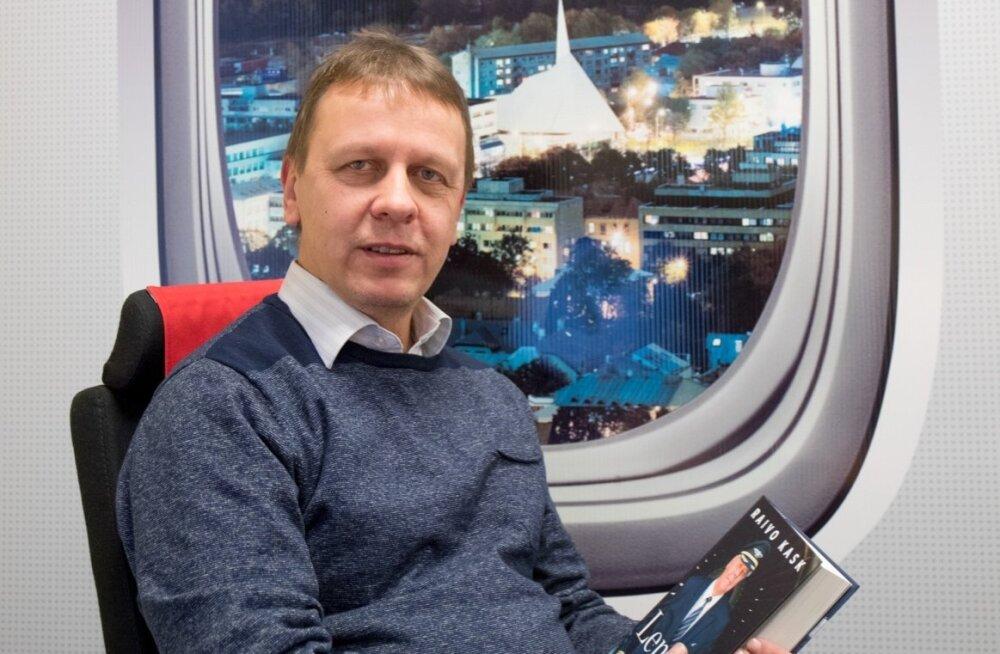 Legendaarne Aerofloti ja Estonian Airi kapten Raivo Kask kinkis Nordica juhile Jaan Tammele enda kirjutatud põneva mälestusteraamatu. Tamm ütleb, et kohtumine kapten Kasega oli äärmiselt südamlik ja emotsionaalne.